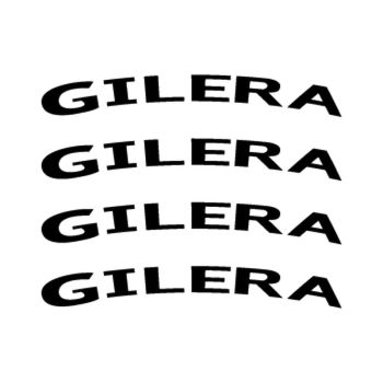 Kit Stickers Jante Moto Gilera