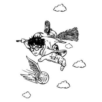 Sticker Harry Potter