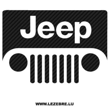 Jeep Carbon Decal