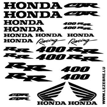 Kit Stickers Honda CBR 400