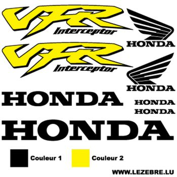 Honda VFR STICKERS SET