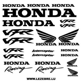 Honda VFR Interceptor decals set