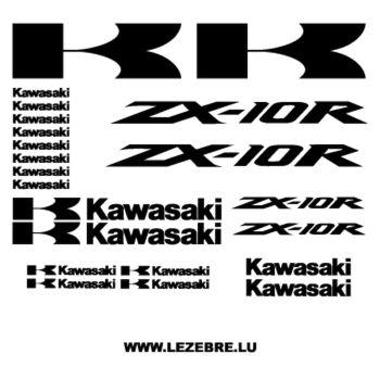 Kawasaki ZX-10R DECALS KIT