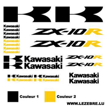 Kawasaki ZX-10R decals set 2