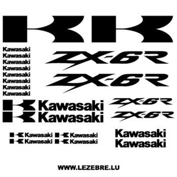 Kawasaki ZX-6R DECALS kit