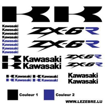 Kawasaki ZX-6R 2 Decals set