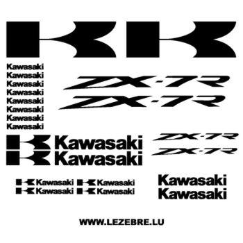 Kawasaki ZX-7R Decals kit