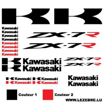 Kawasaki ZX-7R Decals set 2