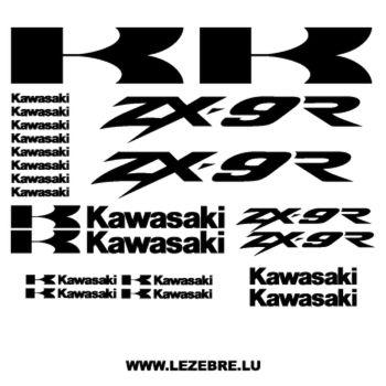 Kawasaki ZX-9R decals set