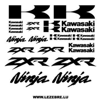 Kawasaki ZXR Ninja decals set