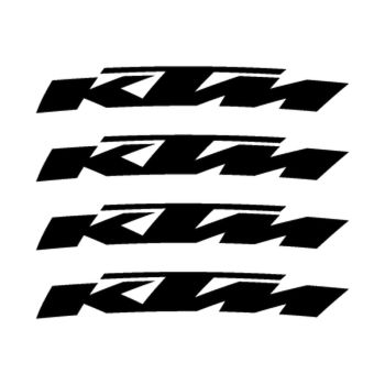 KTM rim decals set