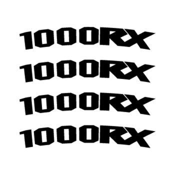 Kawasaki 1000RX rim decals set