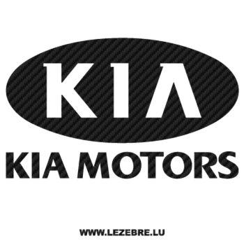 Sticker Carbone Kia Motors