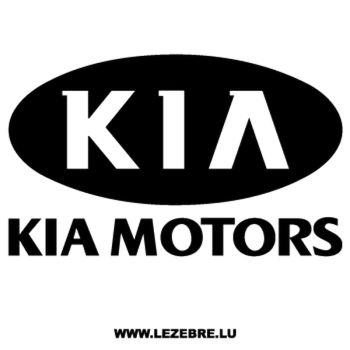 > Sticker Kia Motors