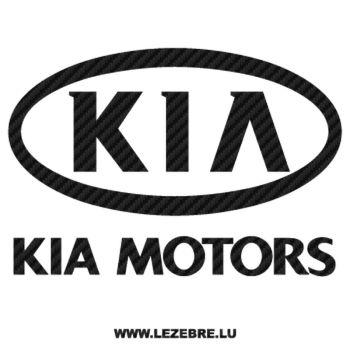 Sticker Carbone Kia Motors 2