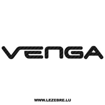 Sticker Karbon Kia Venga