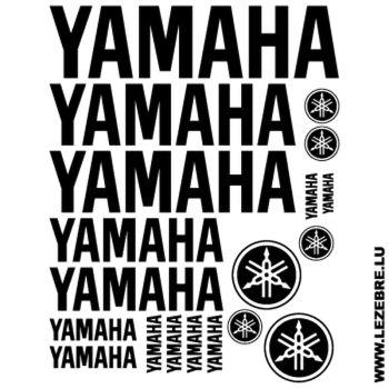 Yamaha Logo Decals set