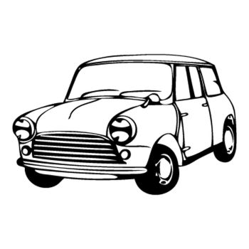 Mini Morris Decal