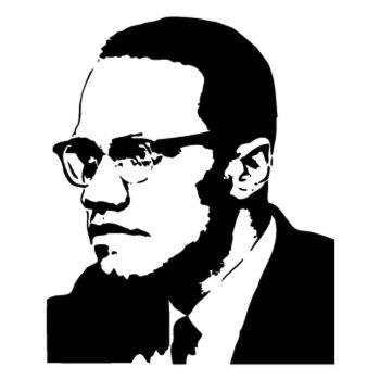 > Sticker Malcolm X