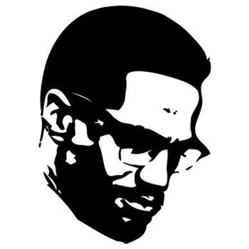 > Sticker Malcolm X 2