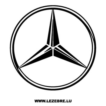 Sticker Mercedes Benz Logo 2