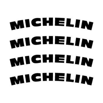 Michelin rim decals set