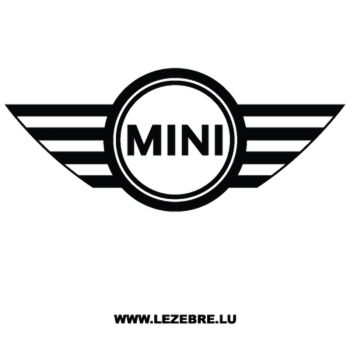 Mini Cooper Logo Decal