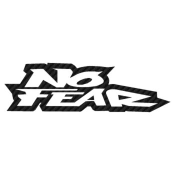 Sticker Carbone No Fear 4