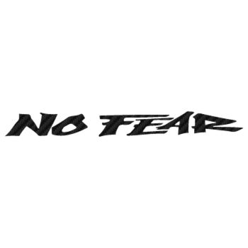 No Fear Carbon Decal 8