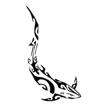 > Sticker Requin