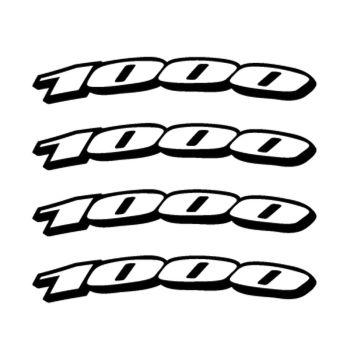 Kit Stickers Jante Moto Suzuki 1000