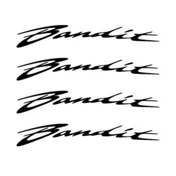 Suzuki Bandit rim decals set