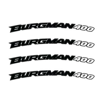 Kit Stickers Jante Moto Suzuki Burgman 400