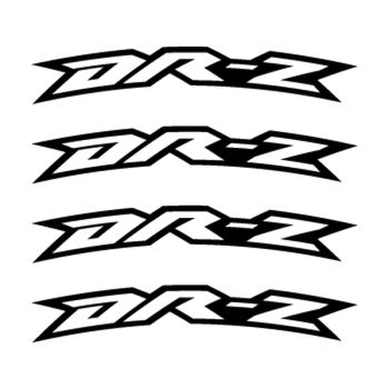 Kit Stickers Jante Moto Suzuki DR-Z