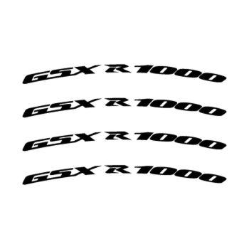 Kit Stickers Jante Moto Suzuki GSX R 1000
