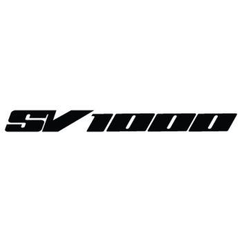 Sticker Suzuki SV 1000