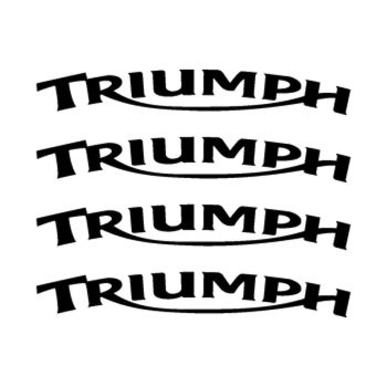 Triumph rim decals set
