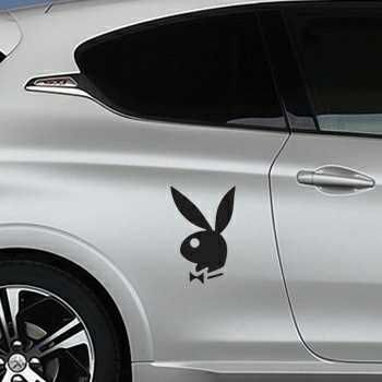 Bunny Playboy Peugeot Decal