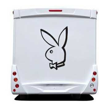 Sticker Camping Car Playboy Playmates Bunny