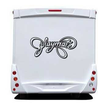 Sticker Camping Car Playboy Playmate