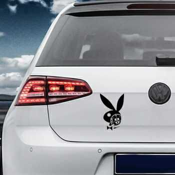 Portuguese Escudo Playboy Bunny Volkswagen MK Golf Decal