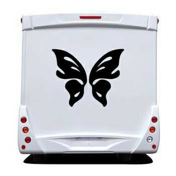 Butterfly Camping Car Decal 59