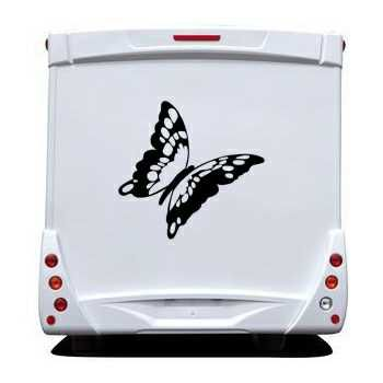 Butterfly Camping Car Decal 60