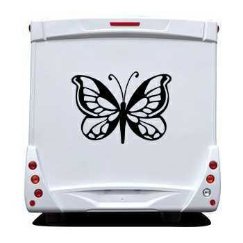 Butterfly Camping Car Decal 64