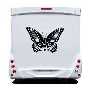 Butterfly Camping Car Decal 65