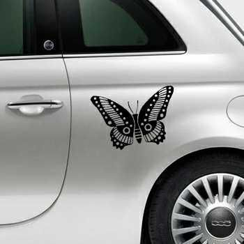 Butterfly Fiat 500 Decal 65