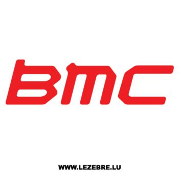 BMC Logo Decal 2
