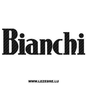 Bianchi Logo Carbon Decal 2