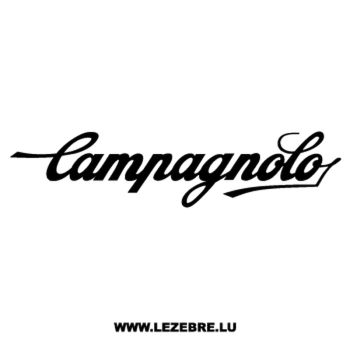 Campagnolo Logo Decal