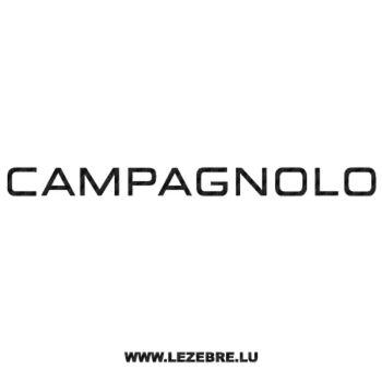 Sticker Carbone Campagnolo Logo 2